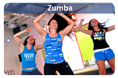 Find Zumba classes near you